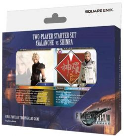 FINAL FANTASY -  TWO-PLAYERS STARTER DECK - AVALANCHE VS SHINRA