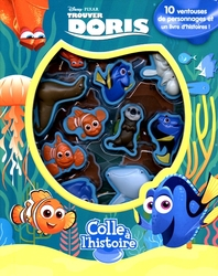 FINDING NEMO -  SUCTION CUP ALBUM -  FINDING DORY