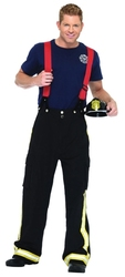 FIREFIGHTERS -  FIRE CAPTAIN COSTUME (ADULT)