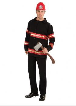 FIREFIGHTERS -  FIREFIGHTER COSTUME (ADULT)