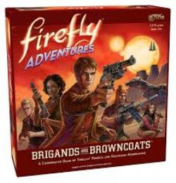 FIREFLY ADVENTURES -  BRIGANDS AND BROWNCOATS (ENGLISH)