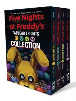 FIVE NIGHTS AT FREDDY'S -  FOUR BOOK BOXED SET TOME 01 TO 04 -  FAZBEAR FRIGHTS