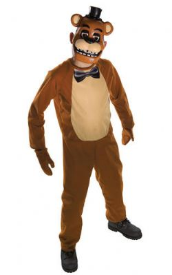 FIVE NIGHTS AT FREDDY'S -  FREDDY COSTUME (TEEN - ONE SIZE)