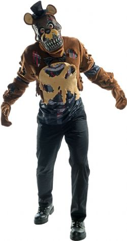 FIVE NIGHTS AT FREDDY'S -  NIGHTMARE FREDDY COSTUME (ADULT)