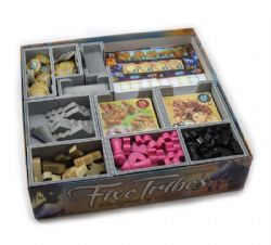 FIVE TRIBES -  INSERT -  FOLDED SPACE