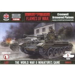 FLAMES OF WAR -  CROMWELL ARMOURED PLATOON -  BRITISH