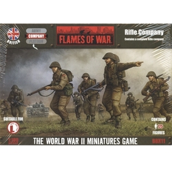 FLAMES OF WAR -  RIFLE COMPANY -  BRITISH
