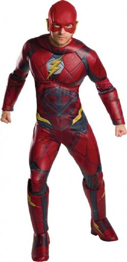 FLASH -  FLASH DELUXE COSTUME (ADULT - X-LARGE )