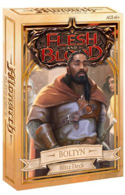 FLESH AND BLOOD -  BLITZ DECK - BOLTYN (ENGLISH) **LIMIT 1 PER CUSTOMER** -  MONARCH