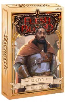 FLESH AND BLOOD -  BLITZ DECK - BOLTYN (ENGLISH) -  MONARCH