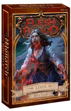 FLESH AND BLOOD -  BLITZ DECK - LEVIA (ENGLISH) **LIMIT 1 PER CUSTOMER** -  MONARCH