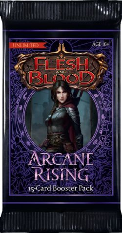 FLESH AND BLOOD -  UNLIMITED BOOSTER PACK (P15/B24/C4) (ENGLISH) -  ARCANE RISING