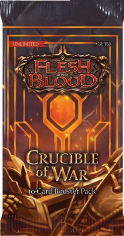 FLESH AND BLOOD -  UNLIMITED BOOSTER PACK (P15/B24/C4) (ENGLISH) -  CRUCIBLE OF WAR