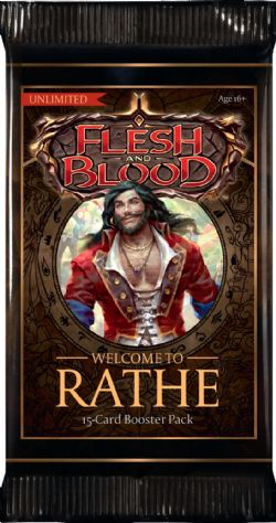 FLESH AND BLOOD -  UNLIMITED BOOSTER PACK (P15/B24/C4) (ENGLISH) -  WELCOME TO RATHE