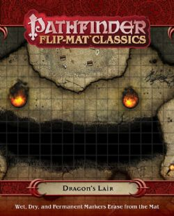 FLIP-MAT CLASSICS -  DRAGON'S LAIR -  PATHFINDER