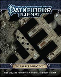 FLIP-MAT -  WIZARD'S DUNGEON - PATHFINDER