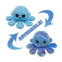 FLIPPY'S OCTOPUS -  BLUE WITH WHITE DOTS AND BLUE WITH SHINY DOTS