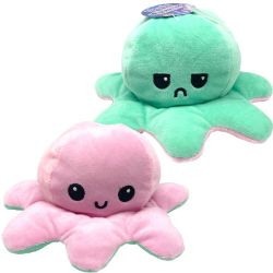 FLIPPY'S OCTOPUS -  LIGHT PINK AND MINT WITH LED LIGHTS