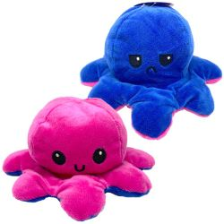 FLIPPY'S OCTOPUS -  PINK AND BLUE WITH LED LIGHTS