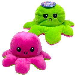 FLIPPY'S OCTOPUS -  PINK AND GREEN WITH LED LIGHTS