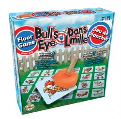 FLOOR GAME -  BULL'S EYE (MULTILINGUAL)