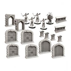 FOLKLORE : THE AFFLICTION -  TERRAIN MINIATURE PACK (ENGLISH)