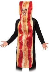 FOOD -  BACON SLICE COSTUME (ADULT - ONE-SIZE)
