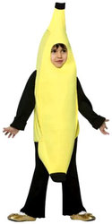 FOOD -  BANANA COSTUME (CHILD)