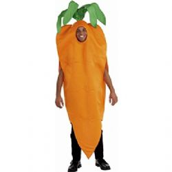 FOOD -  CARROT COSTUME (ADULT - ONE SIZE)