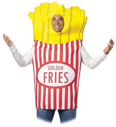FOOD -  FRENCH FRIES COSTUME (ADULT - ONE-SIZE)