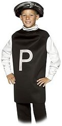 FOOD -  PEPPER COSTUME (CHILD - 7-10)