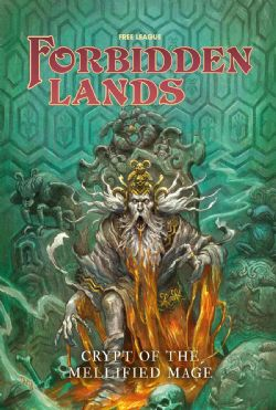 FORBIDDEN LANDS -  CRYPT OF THE MELLIFIED MAGE (ENGLISH)