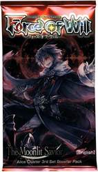 FORCE OF WILL -  THE MOONLIT SAVIOR - BOOSTER PACK (P10/B36)