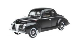 FORD -  1940 COUPE BLACK 1/18 - USED