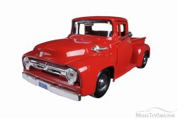 FORD -  1955 F-100 PICKUP 1/24 - RED
