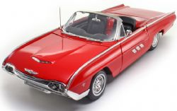 FORD -  1963 THUNDERBIRD 1/18 - RED - USED