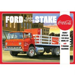 FORD -  AMT FORD C600 STAKEBED WITH COKE MACHINES 1/25 SCALE 1147
