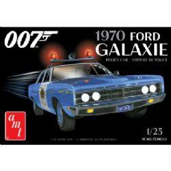FORD -  FORD GALAXIE POLICE CAR - JAMES BOND - 1/25