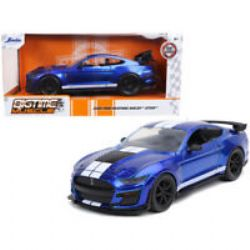 FORD -  MUSTANG SHELBY GT500 2020 1/24 - CANDY BLUE