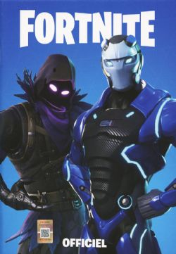 FORTNITE -  CARNET DE NOTE OFFICIEL - BLEU