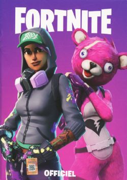 FORTNITE -  CARNET DE NOTE OFFICIEL - MAUVE