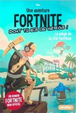 FORTNITE -  LE PIÈGE DE LA CITÉ FANTÔME -  UNE AVENTURE FORTNITE DONT TU ES LE HÉROS ! 05