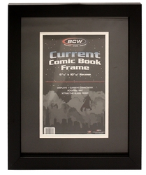 FRAME -  FRAME FOR CURRENT FORMAT COMIC BOOK - BLACK