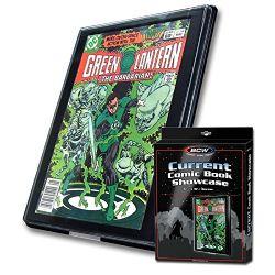 FRAME -  SHOWCASE FOR CURRENT FORMAT COMIC BOOK - BLACK