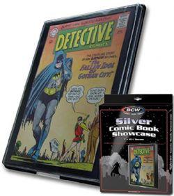 FRAME -  SHOWCASE FOR SILVER FORMAT COMIC BOOK - BLACK