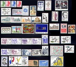 FRANCE -  1985 COMPLETE YEAR SET, NEW STAMPS