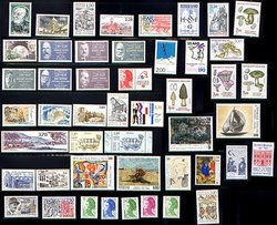 FRANCE -  1987 COMPLETE YEAR SET, NEW STAMPS