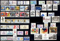 FRANCE -  1988 COMPLETE YEAR SET, NEW STAMPS