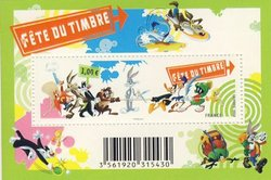 FRANCE -  LOONEY TUNES - 2009 MINI-SHEET