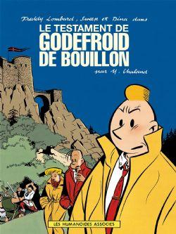 FREDDY LOMBARD -  TESTAMENT DE GODEFROID DE BOUILLON, LE